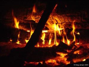 Campfire at Lake Cumberland