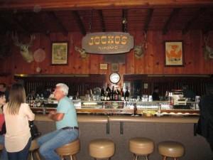 Jocko's bar