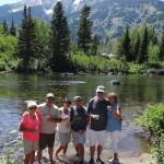 Gang at Jenny Lake