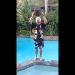 Brother Bob - In full Ice Bucket Challenge Regalia
