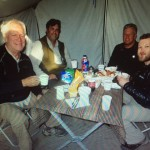 Meal tent